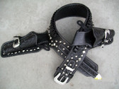 The Lone Ranger Custom Made Leather Holsters Rig Up to size 60 Inches