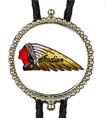 Indian Motorcycle Bolo Tie