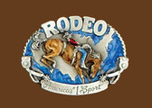 Rodeo America's #1 Sport Belt Buckle
