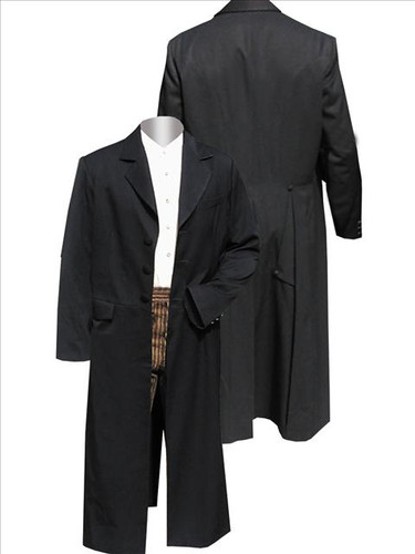 Rifle Frock Coat old WEST PERIOD CLOTHING COAT WORN BY KURT RUSSELL AS WYATT EARP IN TOMBSTONE Worn By Cowboys Of The Old West