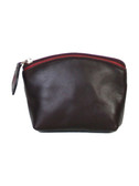 COIN PURSE.  TOP ZIP CLOSURE.  IMPORT.