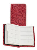 LEATHER PERSONAL TEL/ADDRESS BOOK.  2.75 INCH X 4.25 INCH TEL/ADDRESS BOOK.  IMPORT.
