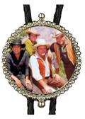 Cast of Bonanza Bolo Tie (2)