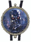 Terminator T800 Metal Skeleton Bolo Tie