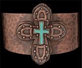 Angel Ranch Hammered Cross Bracelet Set