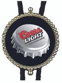Coors Light  Bottle Cap Bolo Tie