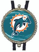Miami Dolphins Bolo Tie