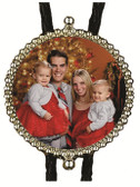 Add your Family Christmas Holiday Custom Made Bolo Tie