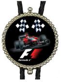 F1 Racing Bolo Tie