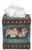 Tissue Box - Horsehead Cowboy Home Decor