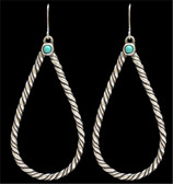 LoulaBelle Rope Teardrop Earrings