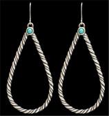 LoulaBelle Rope Teardrop Earrings