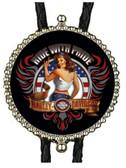 Harley Davidson Ride with Pride Bolo Tie
