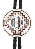 Copper Bolo Tie Soutwestern Design Round