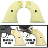 Faux Ivory Grips for Kimar Fast Draw Blank Guns