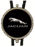 Jaguar Bolo Tie (Black Background)