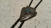 Pewter Arrow Head Frame with Mixed Turquoise Cut Arrow