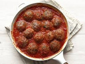 Classic American Italian Style Meatballs and Sauce