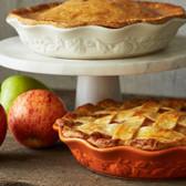 Lattice-Top Apple-Cranberry Pie