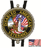 Disabled American Veterans Bolo Tie