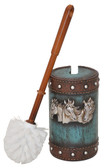 Toilet Brush Holder - Horseheads