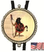 Buffalo Bull Dancer Bolo Tie