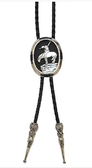 End of the Trail Bolo  (Nickel plated)