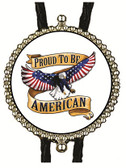 Proud to be  American Bolo Tie (2)