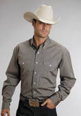 SETSON BRAND WESTERN SHIRTS BROWN 58759