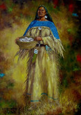 Shes Collected Turnips Native American Fine Art
