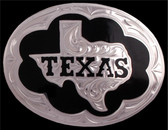 Silver Strike Texas Men's Buckle