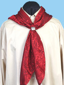 "Silk Scarf Bandana 40"" x 42"" Red"