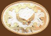 Small Eagle German Silver Belt Buckle 53322