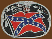 South's Gonna do it again Belt Buckle,