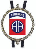 82nd Airborne Bolo Tie