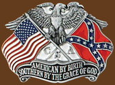 Southern By The Grace of God Belt Buckle,