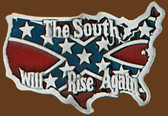 South Will Rise Again Belt Buckle