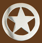 "Star Belt Buckle, 2-1/2"" x 2-1/2"""