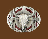 Steerhead Belt Buckle 53668