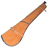 Suede Leather Rifle Scabbard
