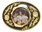 The King Belt Buckle - GOLD