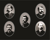 The Earp Brothers & Doc Holliday