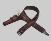 The Vaccaro Hand Made and Tooled All Leather Holster