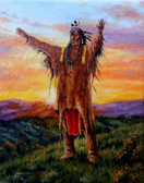 To The Four Sacred Powers Native American Fine Art
