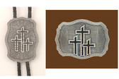 TRIPLE CROSS BUCKLE BOLO SET