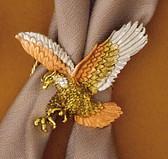 Tricolor Eagle Scarf Slide