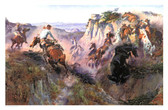 The Wild Horse Hunters Artist: Charles M. Russell