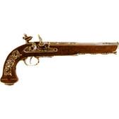 Versailles Flintlock Dueling Pistol - Nickel
