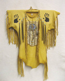 War Shirts 100% BUFFALO SKIN AUTHENTIC NATIVE AMERICAN