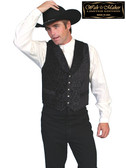 WAH MAKER VEST Black on Black Limited Edition Your Western Clothing Store